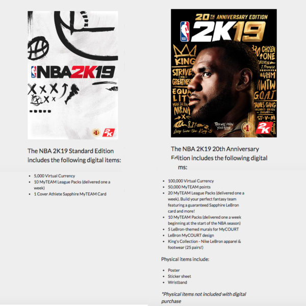 nba-2k19-standard-vs-20th-anniversary-edition